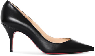 Christian Louboutin Clare 80 black nappa pumps