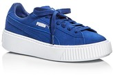 Puma Lace Up Platform Sneakers