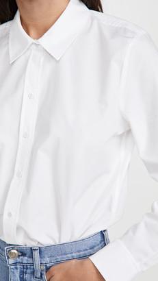 L'Agence Blake Long Sleeve Bodysuit