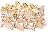 Charlotte Russe Plus Size Embellished Stretch Cuff Bracelet