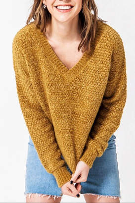 FAVLUX Drop Shoulder Sweater