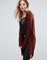 Vero Moda Long Line Fine Knit Cardigan