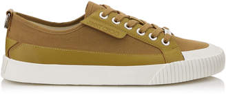 Jimmy Choo IMPALA/LO/M Sugar Cotton Canvas and Soft Leather Lo Trainer