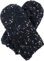 Cuddl Duds Super Cozy and Ultra Soft 2-Tone Color Knit Mitten