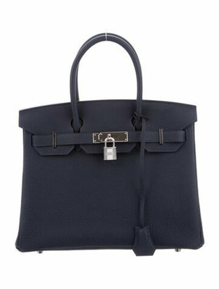 Hermes 2019 Togo Birkin 30 Bleu