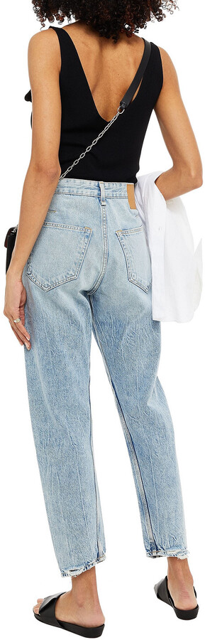 Thumbnail for your product : Rag & Bone Engineer Distressed Mid-rise Tapered Jeans