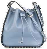 Valentino Rockstud bucket bag - women - Calf Leather - One Size