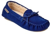 BearPaw Women's Ashlynn Suede Moccasin.