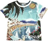 Dolce & Gabbana Catania Printed Cotton Jersey T-Shirt