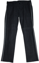 BCBGMAXAZRIA Blue Cotton Jeans