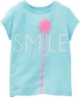 Carter's Smile Palm Tree Tee - Preschool Girl 4-6x