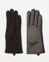 Le Château Leather & Wool Gloves