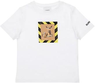 Burberry Bambi Printed Cotton Jersey T-Shirt