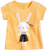 First Impressions Bunny-Print Cotton T-Shirt, Baby Girls (0-24 months), Created for Macy's