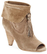 Sigerson Morrison Faro Suede Tassel Ankle Boot