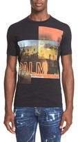 DSQUARED2 Men's Palm Collage Graphic T-Shirt