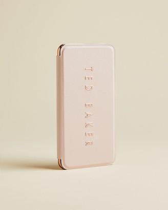 Ted Baker Embossed Iphone 6/7/8 Plus Mirror Case