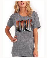 Junk Food Clothing Women's Cincinnati Bengals Big Draw T-Shirt