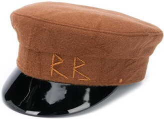 Ruslan Baginskiy Embroidered Logo Baker Boy Hat
