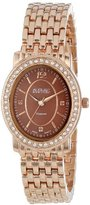 August Steiner Women's AS8043RG Dazzling Diamond Oval Bracelet Watch
