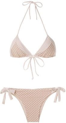 BRIGITTE Jade e Juliana printed bikini set