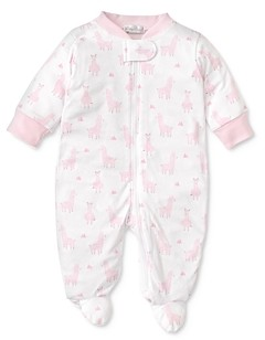 Kissy Kissy Girls' Llama Luv Printed Pima Cotton Zip Footie - Baby