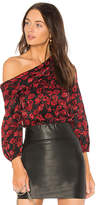 Saloni Ness Top in Black. - size 4 (also in )