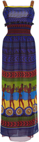 Mary Katrantzou Hemera Maxi Silk Column Dress