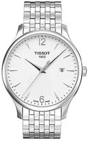 Tissot Mens Tradition Quartz Stainless Steel Watch