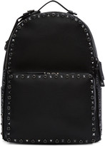 Valentino Black Stone and Rockstud Backpack