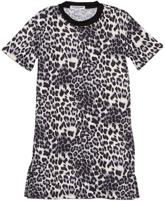 Cotton Emporium Ringer Neck T-Shirt Dress