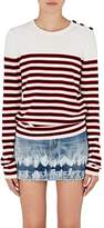 Saint Laurent Women's Striped Wool Sweater