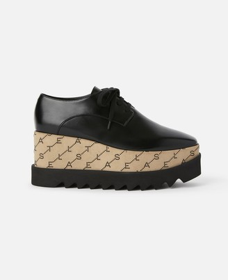 Stella McCartney elyse monogram shoes