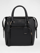 DKNY Pebbled Leather Satchel