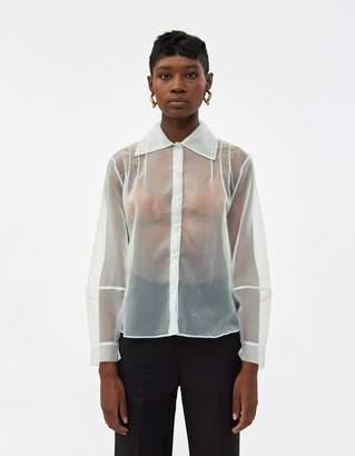 Athena Stelen Button Down Shirt in Sage