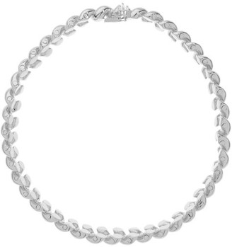 Sophie Buhai Rope Collar Sterling Silver Necklace - Silver