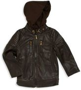 Urban Republic Boy's Contrast Hood Jacket