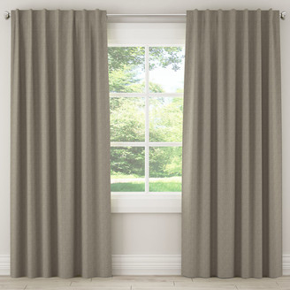 Lulu & Georgia Zuma Gray Curtain Panel