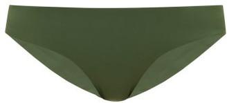 JADE SWIM Lure Low-rise Bikini Briefs - Womens - Dark Green