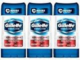 Gillette Endurance Antiperspirant / Deodorant, Brisa Tropical Clear Gel, 3.8 Ounce (Pack of 3), Mens Razors / Blades