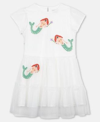 Stella Mccartney Kids Mermaids Dots Tulle Dress, Women's