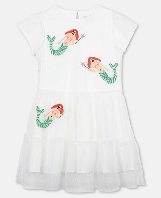 Stella McCartney mermaids dots tulle dress