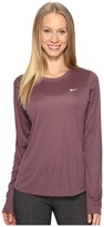 Nike Dri-FIT Miler L/S Running Top Women's Long Sleeve Pullover