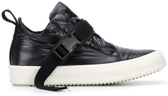 Rick Owens Buckled Flat Sneakers