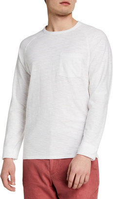 Vince Men's Raglan Single-Pocket T-Shirt