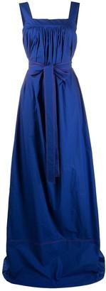 La DoubleJ Mimosa flared dress