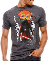 Star Wars STARWARS Force Awakens Short-Sleeve Red Threats T-Shirt