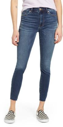 STS Blue Ellie High Waist Raw Hem Ankle Skinny Jeans