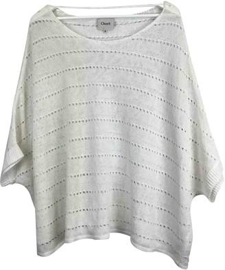 Charli White Cotton Knitwear for Women