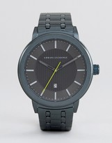 Armani Exchange Ax1458 Bracelet Watch In Blue